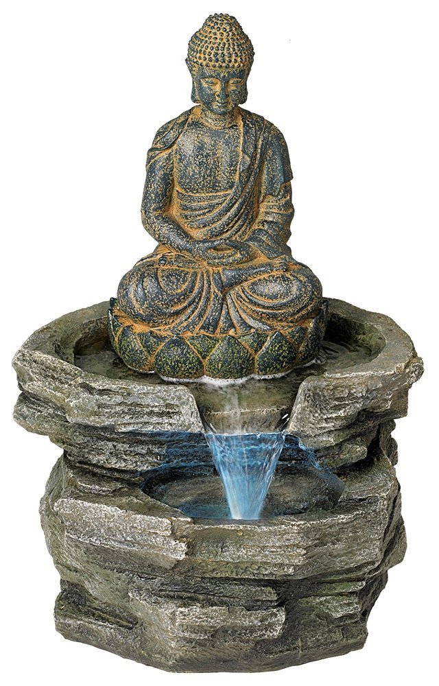 A Buddha Water Fountain For A Peaceful Home